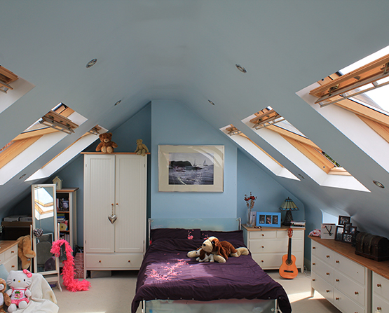 Photo Tour: Follow the progress of a completed loft conversion